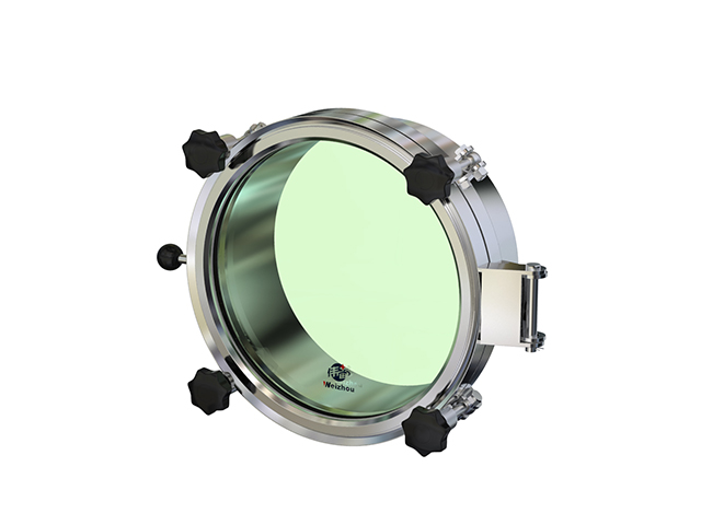 Pressure Sight Glass : Tank equipment manway wzg round pressure with